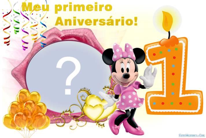 Frases Legais De Aniversário: Aniversario De 1 Um Ano Da Minnie