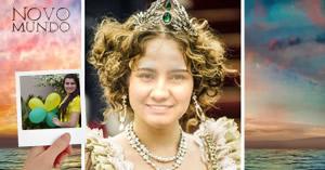 Como você ficaria de Princesa Leopoldina, em Novo Mundo?