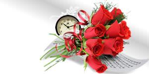 Deseje um feliz dia dos namorados a seu amor com este lindo buquê de flores!