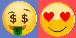 Como esta seu status financeiro e amoroso?