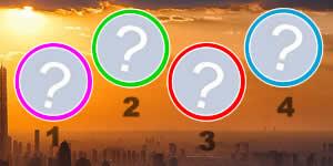 Quem são seus 4 amigos para a vida toda? Faça o teste e Descubra!