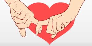 Qual o lado bom de namorar com você?