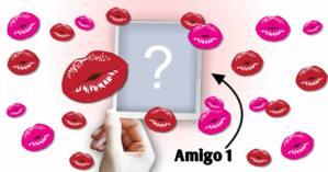 Quem você encheria de Beijinhos Hoje? Escolha um Amigo!