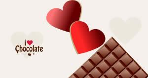 Quem é que te ama mais que chocolate?