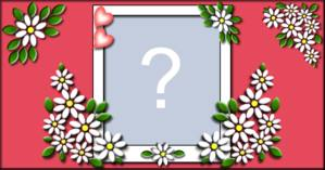 Linda Moldura de Florzinhas. Qual Foto vc colocaria nela?