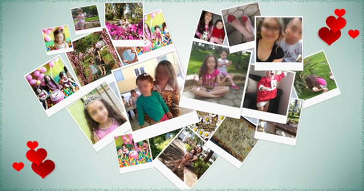 Heart photo collage. Create yours!