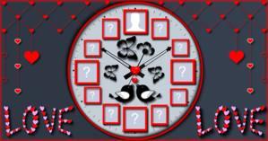 Relógio de Amigos. Quais amigos estão no seu?
