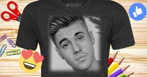 Te ayudaremos a crear una camiseta personalizada con tu foto. ¡Vea aquí!!