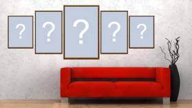 Coloque as fotos que você mais gosta em um quadro na parede da sua sala!