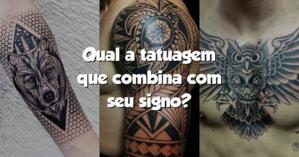 Qual a tatuagem que combina com seu signo?