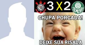 Palmeiras perdeu! Deixe sua risada com sua foto do perfil!