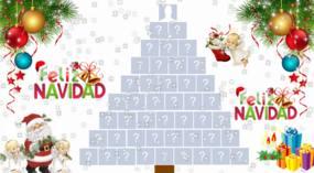 ¡Crea un hermoso árbol de navidad con 44 amigos de facebook!