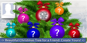 Beautiful Christmas Tree for a Friend. Select your Friend!