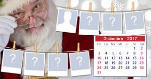¡Crea tu calendario de Navidad 2017 con 7 de tus amigos más cercanos!