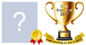 Which friend deserves the friend of the year trophy?