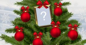 What photo would you put on the top of the Christmas tree?