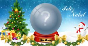 Coloque a foto que você mais gosta em um lindo globo de Natal!