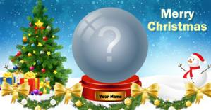Put your favorite photo on a Christmas globe!
