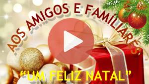 Vídeo especial de Natal em homenagem aos amigos que estiveram com você em 2017. Faça a sua!