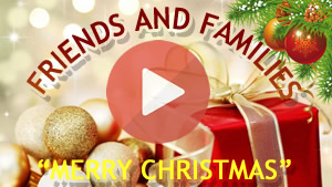 Special Christmas video in honor of the friends who were with you in 2017. Make yours!