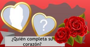 ¿Quién completa su corazón?