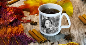 See how your personalized coffee mug looks with your favorite photo!