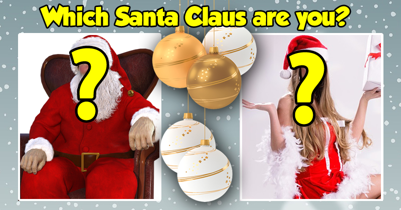 Which Santa Claus are you?