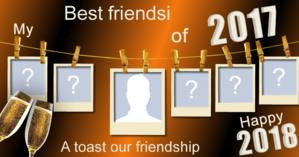 Who were your best friends of 2017?