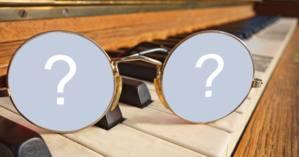Montagem com fotos na lente de um óculos! Faça a sua!
