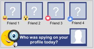 Who was spying on your profile today?