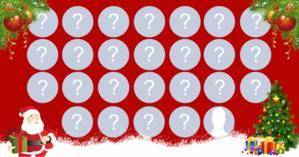 Mosaico de Navidad con 25 amigos. ¡Crea tu!