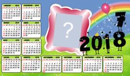 Calendario de Ano Novo 2018. Qual Foto você colocaria nele?