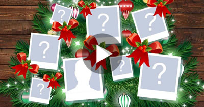 Create your animated Christmas Tree made of 45 friends!