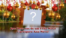 Linda Molduura de Natal. Qual Foto você colocaria nela?