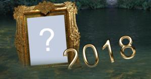 Moldura de Ano Novo com Foto na Agua. Qual Foto você quer colocar nela?
