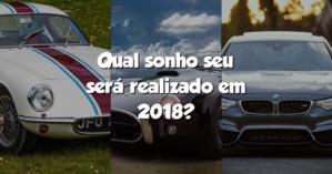 Qual sonho seu será realizado em 2018?