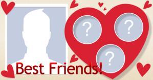 Quels sont les 3 amis qui complètent ton Coeur?