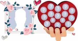 Crie um lindo coração virtual com seus melhores amigos do Facebook!