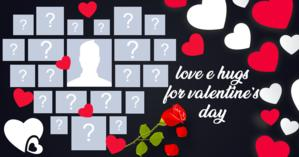 Create a Valentine's Day heart with your friends!