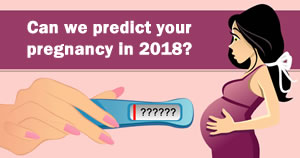 Can we predict your pregnancy in 2018?