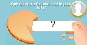 Que dit votre fortune cookie pour 2018?
