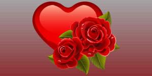 Linda montagem de rosas vermelhas com 8 fotos. Faça a sua!