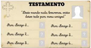 Como será o seu Testamento?