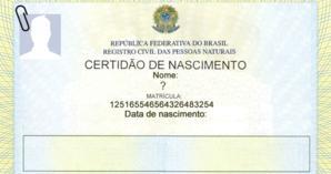 Encontramos sua certidão de nascimento original. Veja o que diz nela!