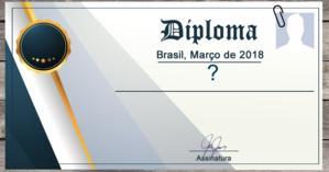 Como é o seu diploma? Veja aqui!