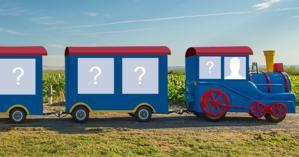 Quem você levaria para passear de Trenzinho com você?