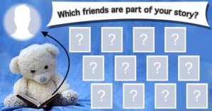 Which friends are part of your story? Find it out!