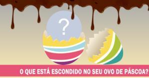 O que está escondido no seu ovo de Páscoa?