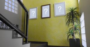 What 3 pictures would you put on the stairs of your house?