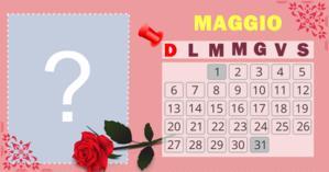 Maggio Calendar con la tua foto più ammirata del 2018. Fai il tuo!